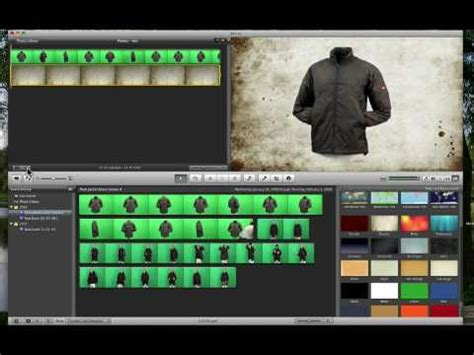 tutorial imovie green screen how to do green screen in imovie youtube