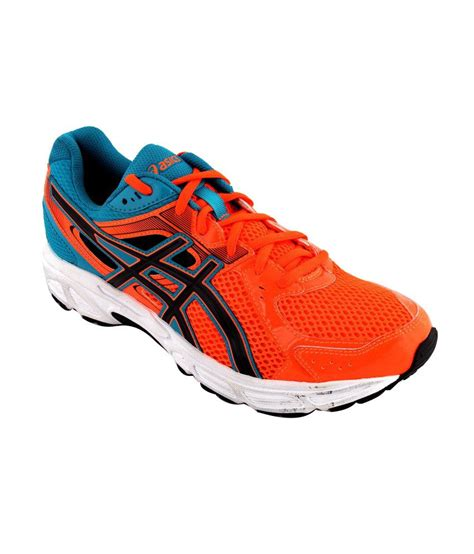 active sport shoes asics orange active sport shoes gel contend 2 price in