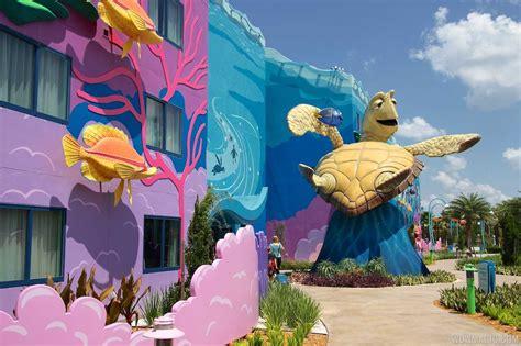 review disney s art of animation resort disney s art of animation finding nemo section photo