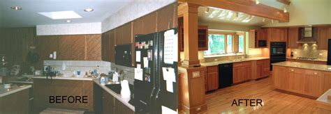 70s House Remodel Before And After | 70s kitchen remodel before and after affordable