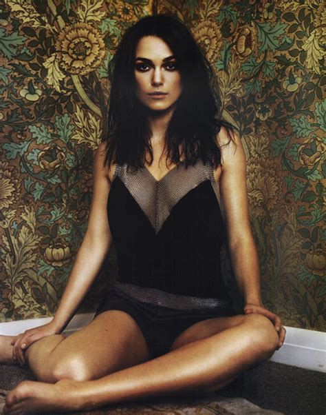 The Keira Knightley Slip That Almost Was by Amazing Keira Knightley Slip On The
