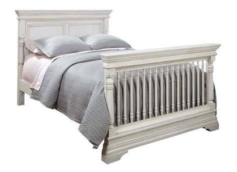 Rustic White Baby Crib Kerrigan Convertible Crib In Rustic White Specialty Baby
