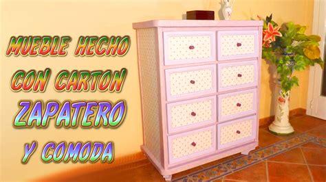 ideas para hacer un zapatero con materiales reciclados c 243 mo hacer un mueble zapatero con cajones de cart 243 n