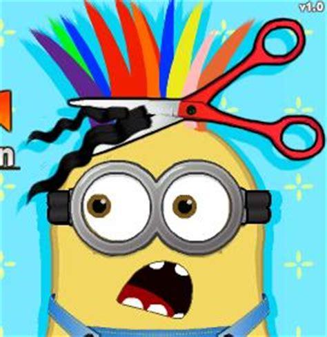 Minions Haircuts Games | minion at hair salon game online minion games