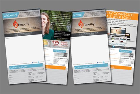 layout cover buletin weekly church bulletin layout on behance