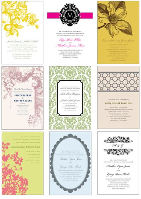 free templates wedding invitations free wedding invitation card templates