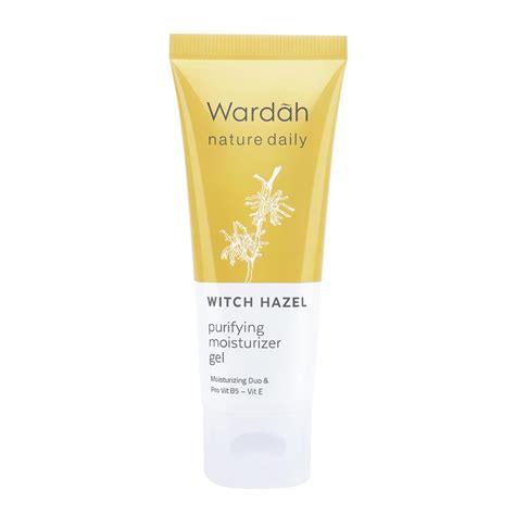 Harga Wardah Nature Daily Witch Hazel wardah nature daily witch hazel purifying moisturizer gel
