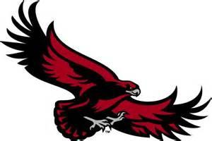Blue Doormat St Joseph S Hawks Alternate Logo 2001 Flying Red Hawk