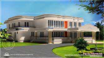 new luxury villa exterior in 3450 sq home kerala plans