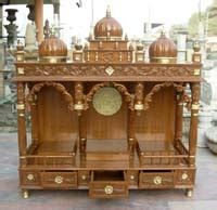 wooden pooja mandir shops in bangalore