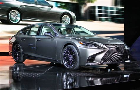 all new 2018 lexus ls 500 gets a turbo v6 driving