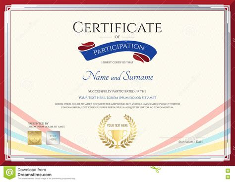 certificate template for achievement award images