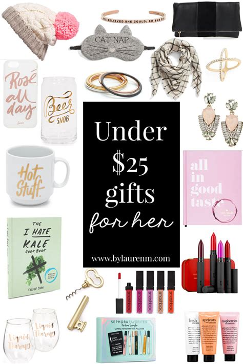 gifts for her 2016 under 25 gifts for her by lauren m
