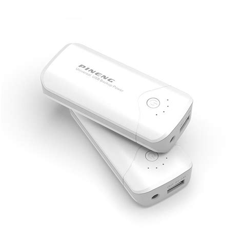 Power Bank Jenama Pineng carregador portatil power bank pineng 5000mah usb lanterna pn905 corujamix