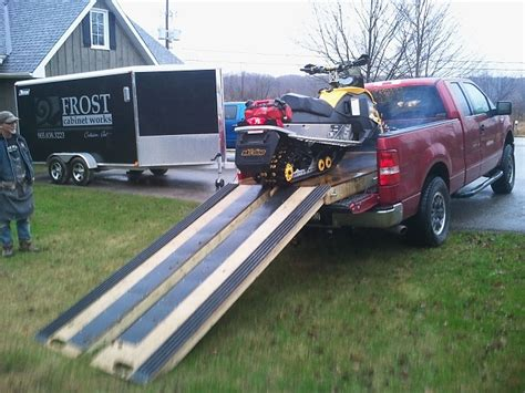truck bed deck snowmobile in bed page 4 ford f150 forum community