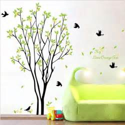 Removable Wall Stickers For Baby Room my lime orange tree wall art mural wall decal sticker