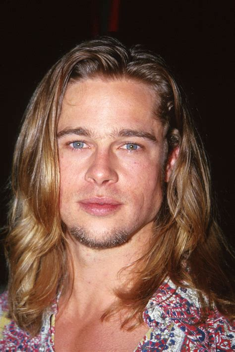 80s surfer haircut september 1993 the surfer dude brad pitt and his hair