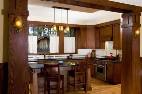 mission style kitchen lighting mission style kitchen cabinets new craftsman bungalow