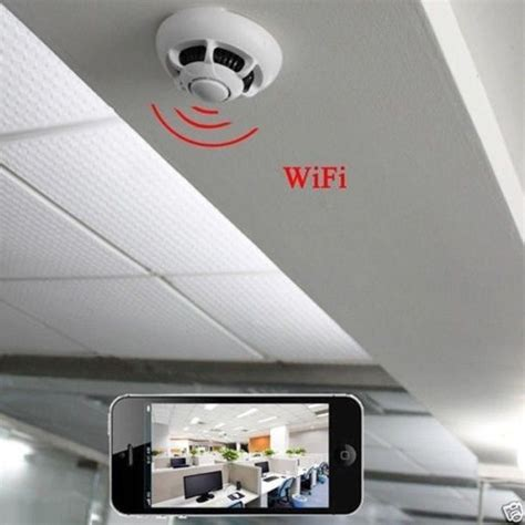 p2p cam p2p smoke detector wifi camera wireless ip camera dvr
