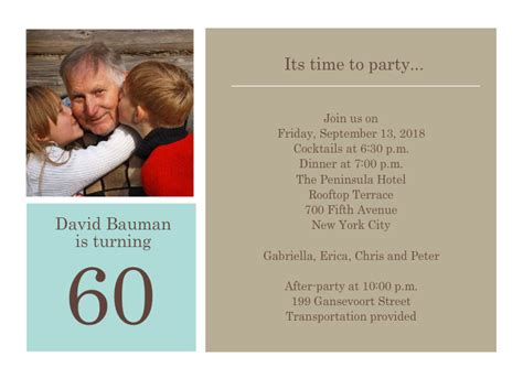 wording for 60th birthday invitations 60th birthday invitations