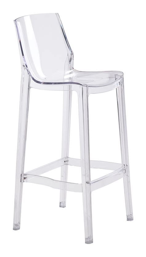 Clear Acrylic Counter Height Stools by Set Of Two Clear Acrylic Phantom Bar Stool Clear Acrylic