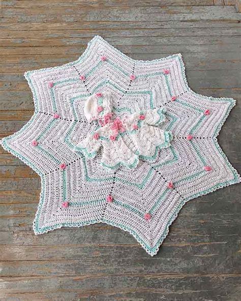 Rosebud Ripple Layette Crochet Pattern ? Maggie's Crochet
