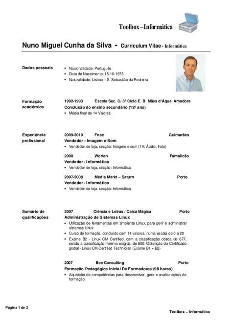 Modelo Curriculum Vitae Tecnico Informatica Curr 237 Culo Informatica