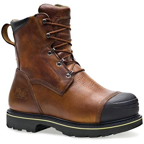 timberland pro boots for s timberland 174 pro 174 10 quot warrick smelter boots brown