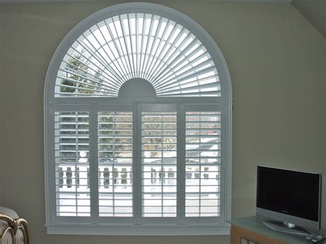 arch window shutters interior window shutters arched plantation shutters bucks county pa