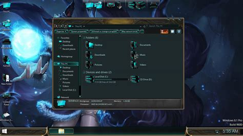 download theme windows 7 lol league of legends skinpack skinpack customize your