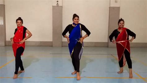 tutorial dance on pallo latke pallo latke dance by beautiful girls youtube
