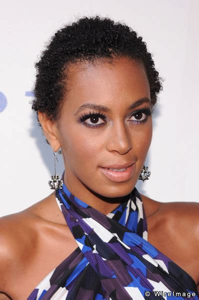 Real Hair Hairstyles Solange Knowles Hairstyles Bolder More Than