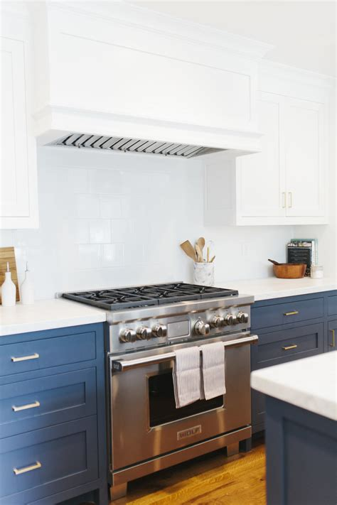 navy cabinets lynwood remodel kitchen studio mcgee