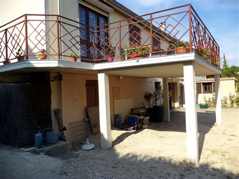 Extension Terrasse Beton by Ma 231 Onnerie Et Extension De Maison Julien Medina