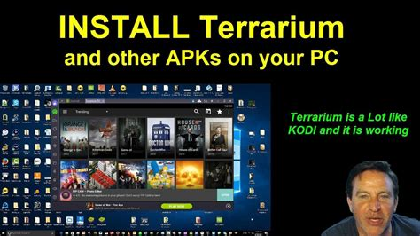 install apk on android from pc how to install terrarium apk on a pc using bluestacks android emulator funnydog tv