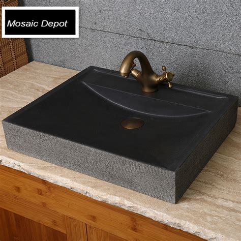 stein waschbecken bad granit schiff sinken beurteilungen einkaufen