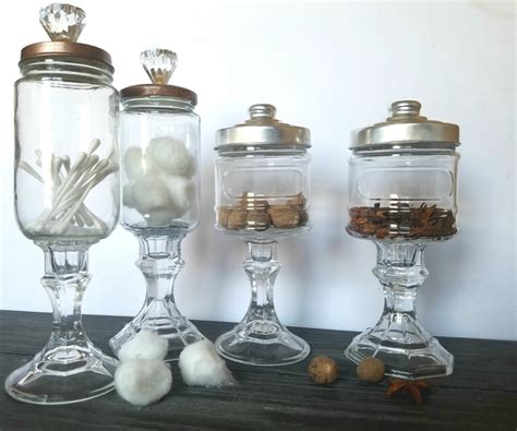 apothecary jars diy apothecary jars with giggles grace