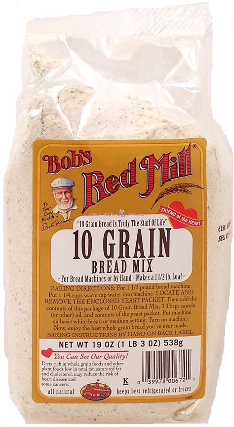 10 Grain Bread Machine Recipe Groceries Express Com Product Infomation For Bob S Red