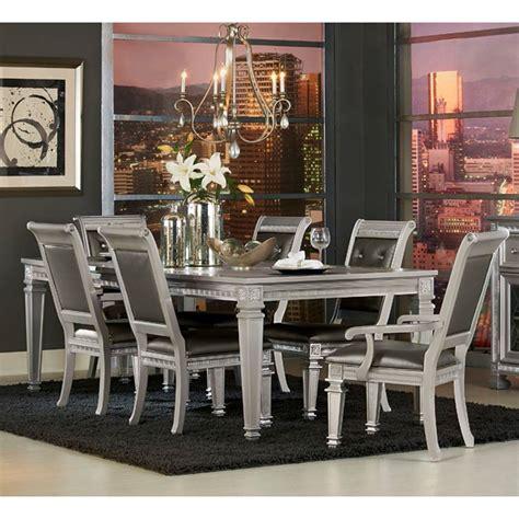 Homelegance Dining Room Furniture Homelegance 1958 Glam Table And Chair Set Value City Furniture Dining 7 Or More Sets
