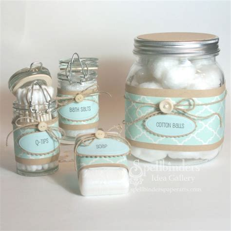 bath set by spellbinders think crafts by createforless