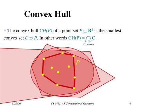 Ppt Cs 6463 At Computational Geometry Spring 2006