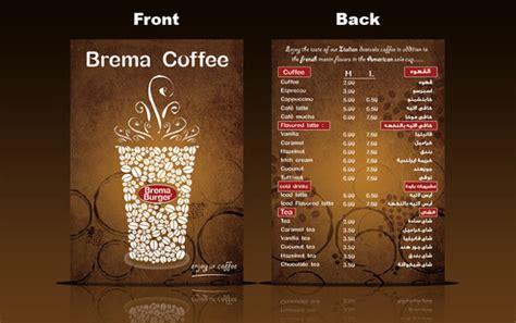 menu card design for cafe 40 most beautifully designed restaurant menu s cards