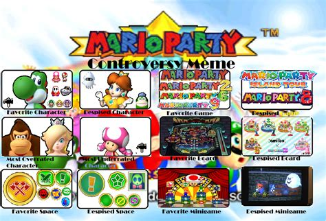 Mario Party Memes - mario party controversy meme spongyoshi version by linkgames on deviantart