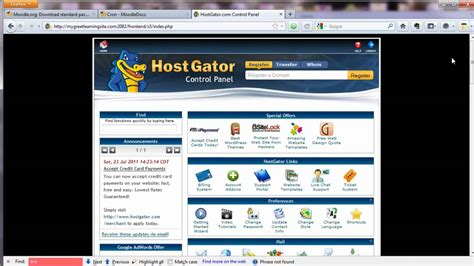 tutorial shared hosting how to install moodle on shared hosting via cpanel free