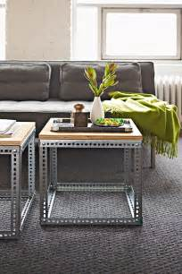 Diy Coffee Tables Modern Industrial Diy Coffee Table Decoist