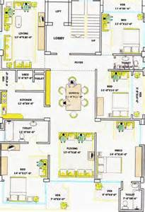 Bangladeshi House Design Plan by Luxury 4 Bed Apartment In Prestigious Part Of Dhaka Bangladesh