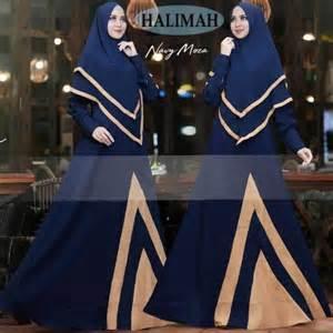 Gamis Syar I Halimah baju gamis misbee halimah syari busana muslim modern