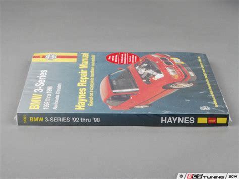 haynes bmw 3 series including z3 92 98 repair manual 18021 shop service du ebay ecs news haynes repair manual bmw e36 non m 3 series