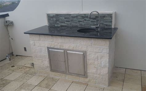 kitchen sinks tx outdoor sink houston s best outdoor sinks kitchens and