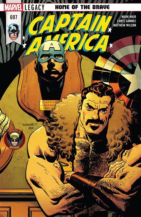 Captain America Marvel America 1 marvel comics legacy captain america 697 spoilers